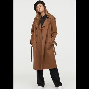 H&M New long trench coat